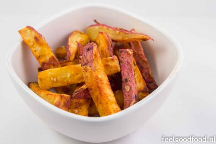 Diner - Zoete aardappel frieten (Small)