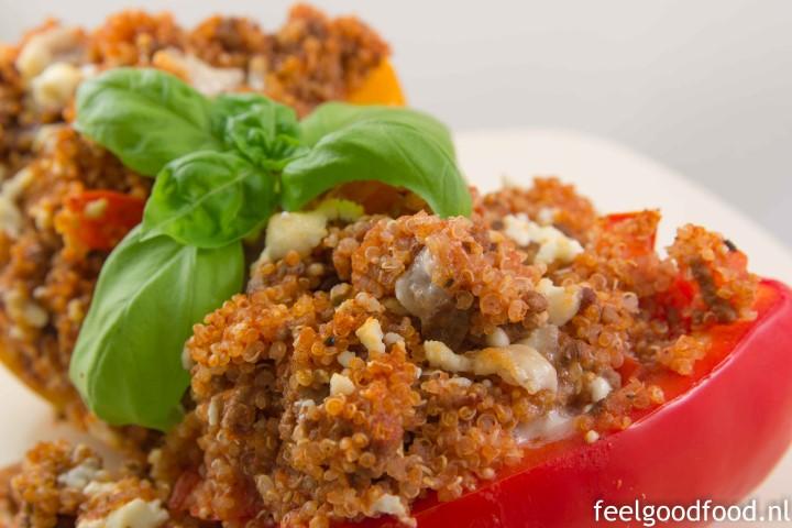 Diner - gevulde paprika met quinoa (Small)