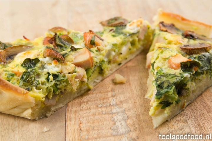 Feel good quiche